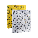 Gold & Silver Diamond Gift Bags (4 Pack)
