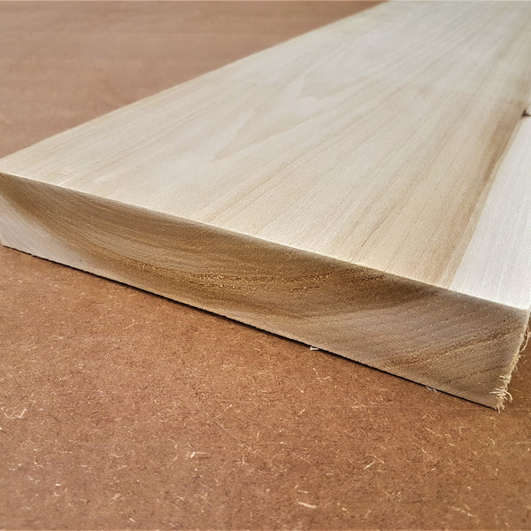 Tulipwood for making climbing holds