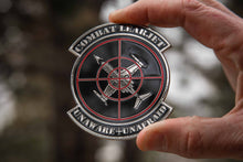 Load image into Gallery viewer, Combat Learjet Challenge Coin