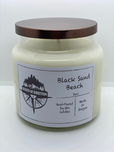 Black Sand Beach - Soy Candle