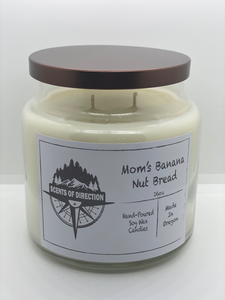 Mom's Banana Nut Bread - Soy Candle
