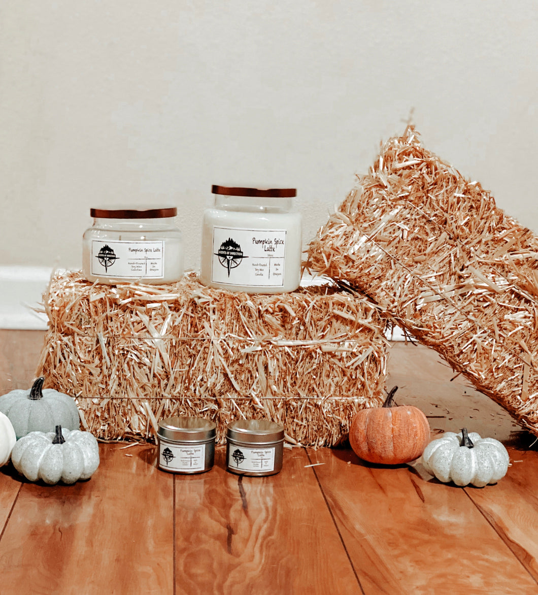Pumpkin Spice Latte - Soy Candle
