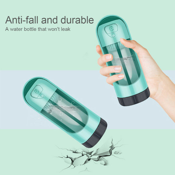 Pets Water Bottle with Activated Carbon Filter