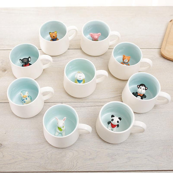 Animal Novelty Mugs