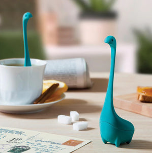 """Nessie"" Tea Infuser Silicone Loose Leaf Tea Strainer - The Zoo Brew"