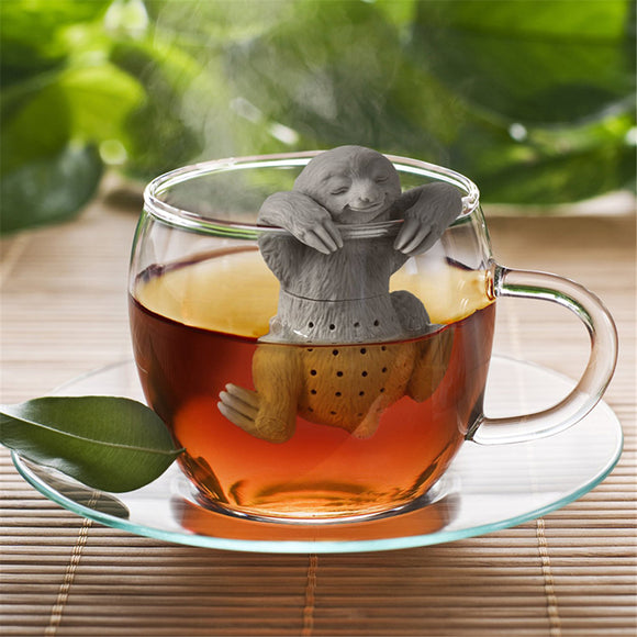 Lazy Sloth Tea Infuser Silicone Loose Leaf Tea Strainer