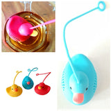 Rubber Ducky Tea Infuser Silicone Loose Leaf Tea Strainer