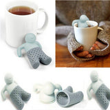Little Man Tea Infuser Silicone Loose Leaf Tea Strainer - The Zoo Brew