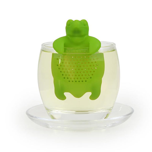 Tortoise Tea Infuser Silicone Loose Leaf Tea Strainer - The Zoo Brew