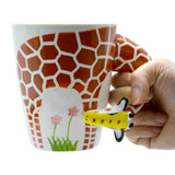 Creative Hand Drawn Animal Mugs - Set 1 - The Zoo Brew