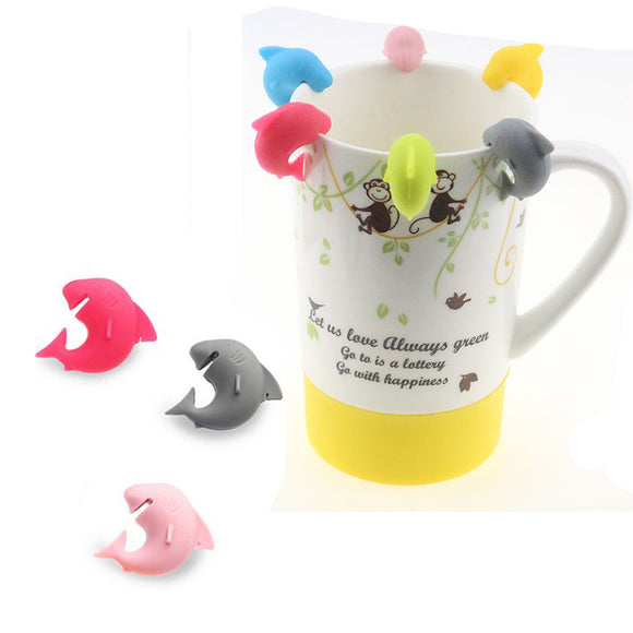 Shark Tea Bag Holders (6 Pcs) - The Zoo Brew