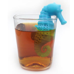 Sea Horse Tea Infuser Silicone Loose Leaf Tea Strainer - The Zoo Brew