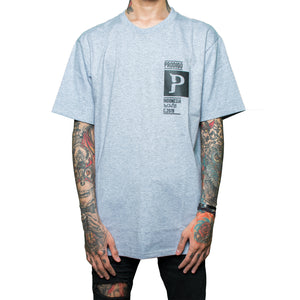 Sawentar Tshirt Grey cotton