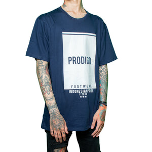 Watugong Tshirt navy cotton