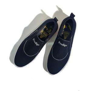 Baduy Slip On Black White