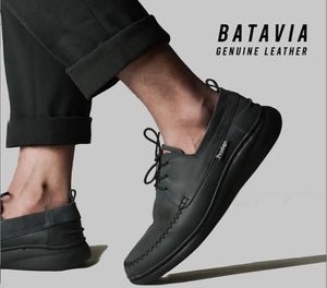 Batavia Black CH Leather