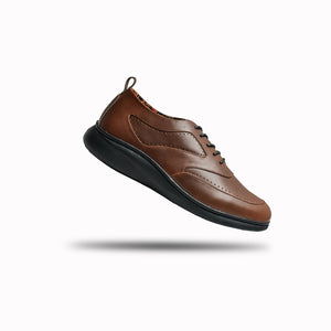 Borneoo Shoes Brown Genuine Leather