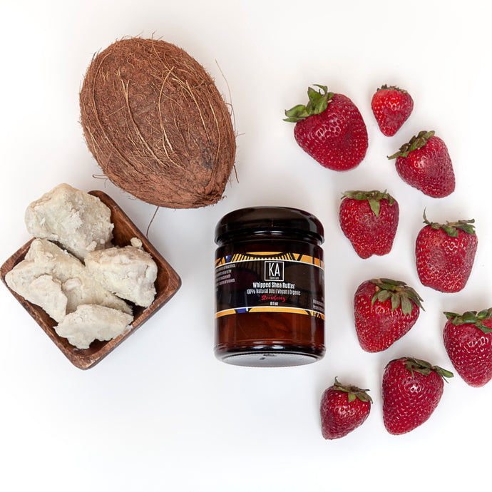 Strawberry Whipped Shea Butter