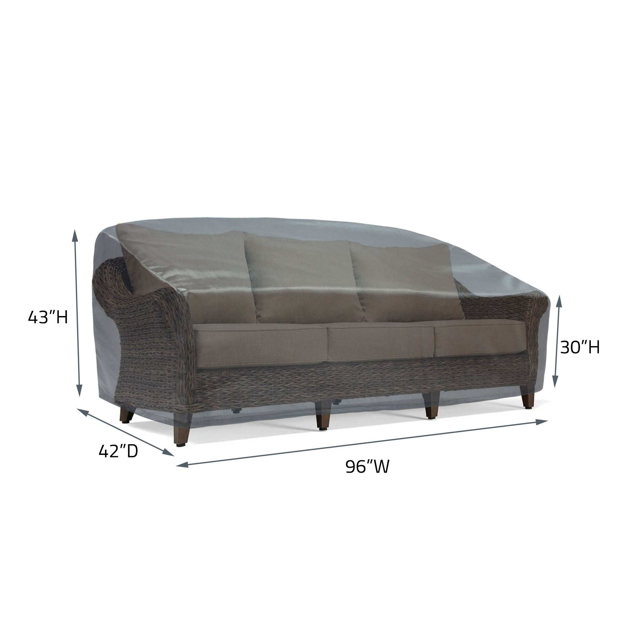 COV-M241 Premium Mercury Cover XL Sofa