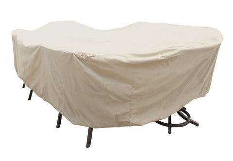 Large Oval/Rectangle Table and Chair Cover - CP699