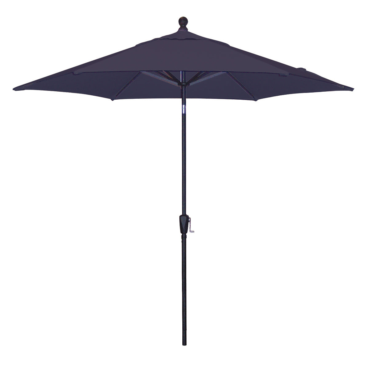 9 Ft Push Button tilt Market Umbrella <br> Bronze Aluminum Frame <br> Assorted Color Options
