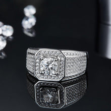 Load image into Gallery viewer, Men's Ultimate Moissanite Ring