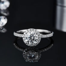 Load image into Gallery viewer, The Romantic Moissanite Engagement Ring