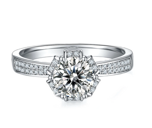 The Royal Moissanite Engagement Ring