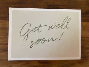Box Postcard - Get well soon