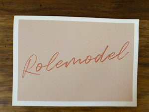 Box Postcard - Rolemodel