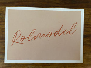 Box Postcard - Rolmodel