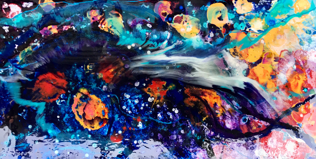 'Mermaid's Garden' - Leda Daniel Art Studio