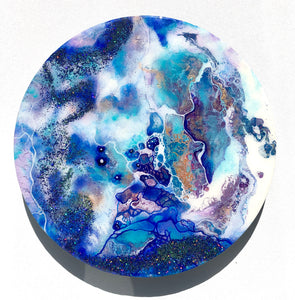 'Worlds Within' - Unique, handmade artworks by Leda Daniel Art Studio