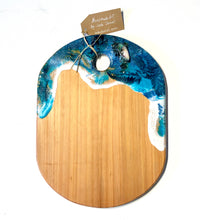 Load image into Gallery viewer, 'Okiwi Bay' - Unique, handmade artworks by Leda Daniel Art Studio