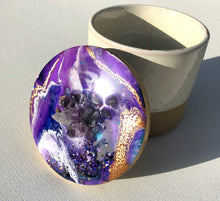 Load image into Gallery viewer, 'Crystal' Jar - Unique, handmade artworks by Leda Daniel Art Studio