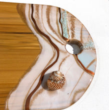 Load image into Gallery viewer, 'Coronet Peak' - Cheeseboard - Unique, handmade artworks by Leda Daniel Art Studio