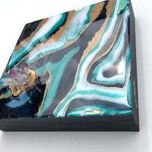 Load image into Gallery viewer, 'Rockpools' - Unique, handmade artworks by Leda Daniel Art Studio