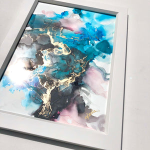 'Playful Wilderness' - Unique, handmade artworks by Leda Daniel Art Studio