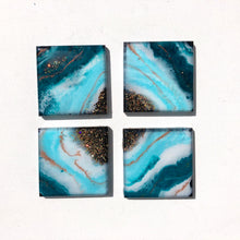 Load image into Gallery viewer, 'Takapuna Beach' -Coasters - Leda Daniel Art Studio