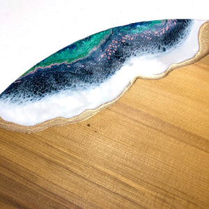 'Long Bay' - Cheeseboard - Leda Daniel Art Studio