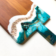 Load image into Gallery viewer, 'Opua' - Cheeseboard - Unique, handmade artworks by Leda Daniel Art Studio