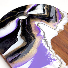 Load image into Gallery viewer, 'Kai Iwi Lakes' - Cheeseboard - Unique, handmade artworks by Leda Daniel Art Studio