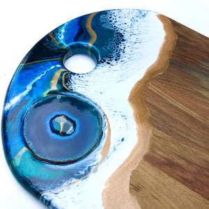 'Blackpool Beach' - Cheeseboard - Leda Daniel Art Studio