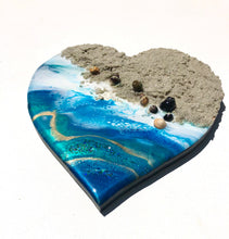 Load image into Gallery viewer, 'Mission Bay' - Love Heart - Leda Daniel Art Studio