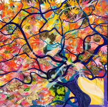 Load image into Gallery viewer, 'The Wishing Tree' - Unique, handmade artworks by Leda Daniel Art Studio