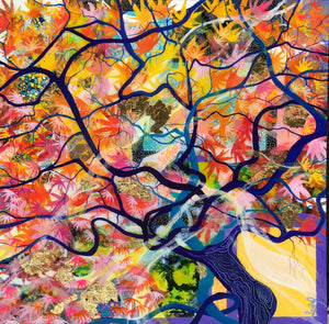 'The Wishing Tree' - Unique, handmade artworks by Leda Daniel Art Studio