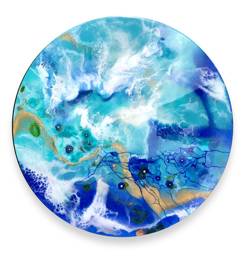 'Where The Oceans Meet' - Unique, handmade artworks by Leda Daniel Art Studio