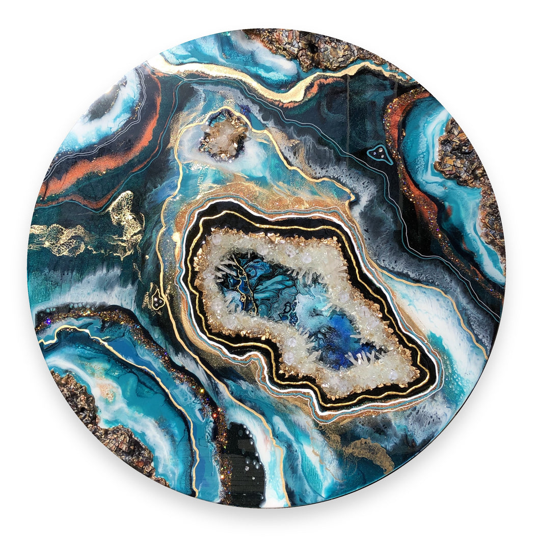 'Oceania' - Unique, handmade artworks by Leda Daniel Art Studio