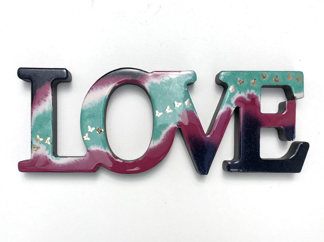 'All I Need Is Love' - Leda Daniel Art Studio