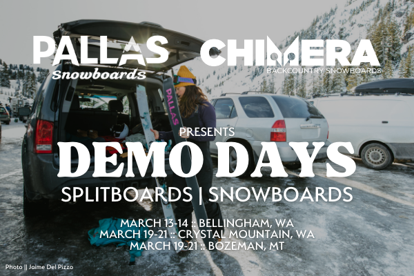 Pallas Snowboards Demo Days